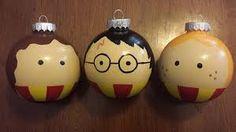 Resultado de imagem para harry potter christmas ornaments