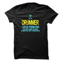 I am a DRUMMER - #shirt for teens #hoodie costume. GET YOURS => https://www.sunfrog.com/LifeStyle/I-am-a-DRUMMER-28715714-Guys.html?68278