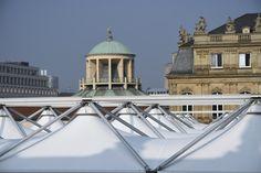 Das spezielle Delta Vista Dach im Einklang mit den Dächern von Stuttgart - ein herrliches Bild.