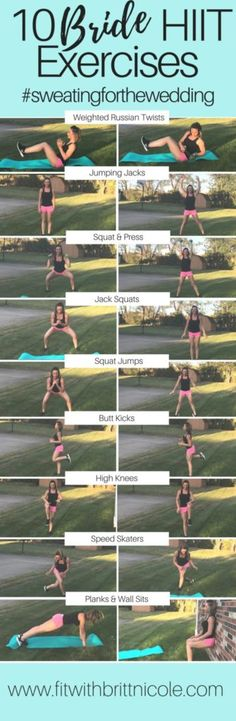 Use these 10 weight loss HIIT exercises to burn that stubborn fat.