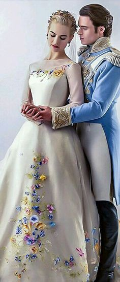 Cinderella is actually taller than the prince. Just saying