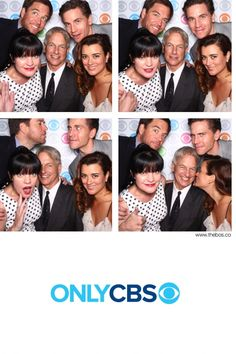 """""""NCIS"""" Takes to the Photo Booth  NCIS' Mark Harmon, Michael Weatherly, Pauley Perrette, Cote de Pablo and Brian Dietzen take some fun photos on the Carnegie Hall Red Carpet at the 2013 CBS Upfront."""