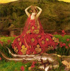 La Belle Dame sans Merci, Frank Cadogan Cowper, 1926