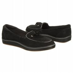 Grasshoppers Highview Shoes (Black Suede) - Women's Shoes - 6.0 M