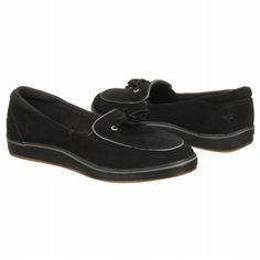 Grasshoppers Highview Shoes (Black Suede) - Women's Shoes - 6.0 M