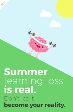 School's almost out. Don't let your students' brains melt away this summer. Sign them up for CK-12's free math and science summer practice program!