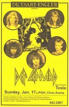 Def Leppard Civic Arena Pyromania Bringin on the Heartbreak 11x17 Rare Very Limited Concert Poster Print Only One on Amazon Mypostergallery,http://www.amazon.com/dp/B007KQB3RG/ref=cm_sw_r_pi_dp_GECzsb0YJHA9SYM3