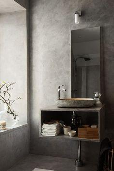 Pella Hedeby: Lyft badrummet med betongputs
