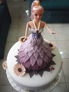 Fairie Barbie Cake