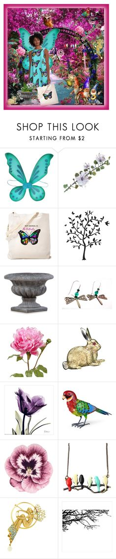 """""""Living in the Land of Fairy Tales"""" by jroy1267 on Polyvore featuring Godinger, Thos. Baker, Improvements, Nourison and Masriera"""