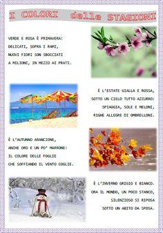 Filastrocca sulle stagioni