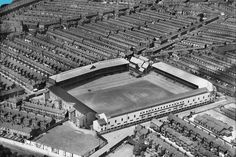 Goodison Park, Everton in the English Football Stadiums, British Football, Uk Football, Vintage Football, Countries Around The World, Around The Worlds, Fulham Fc, Image Foot, Goodison Park