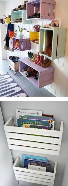 55 Ideas For Diy Decoracion Habitacion Cajas Decor, Bedroom Decor, Diy Decoracion, Home Organization, Diy Home Decor, Home Diy, Room Diy, Diy Furniture, Home Decor