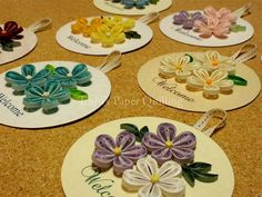 Paper Quilling Cards, Paper Quilling Patterns, Neli Quilling, Quilled Paper Art, Quilling Paper Craft, Quilling Flowers, Paper Crafts, Quilled Creations, Homemade Gifts