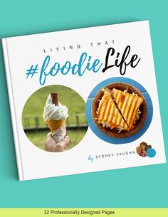 Social Media Cookbook & Recipe Template for Adobe InDesign  Perfect for the foodie, Instagram fanatic, or blogger looking to expand their audience. Use this template to showcase your photos, Insta pics, and recipes. Fun, modern, and a great instant download.