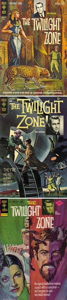 The Twilight Zone (1959–1964, CBS) — comic books