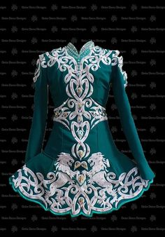 Unique hand-made irish dance dresses tailored by Shauna Shiels at Doire Dress Designs. view our gallery to see latest platinum collection of irish dance dresses