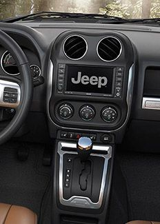 2015 Jeep Compass Leather Steering Wheel