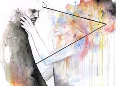 """Two Different Lights,"" Agnes Cecile"