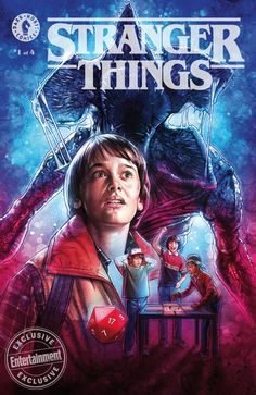 Dark Horse announces line of 'Stranger Things' comics | EW.com #strangerthings #darkhorsecomics