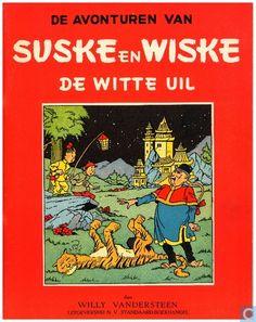 Strips - Suske en Wiske - De witte uil