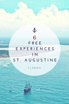 Free Things to do in St. Augustine FL