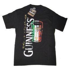 Guinness T-Shirt Irish Flag Pint St. James's Gate  Price : $12.95 http://www.biddymurphy.com/Guinness-T-Shirt-Irish-Flag-Jamess/dp/B00L5QJC0C