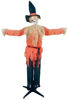1000 images about scarecrow ideas on pinterest for Animated scarecrow decoration