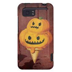 Halloween Pumpkin Ice Cream Cone Htc Vivid / Raider 4g Case by colonelle