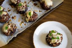 February 4, 2016 is Stuffed Mushroom Day. Help your audience celebrate by sharing your opinion of this TOFU AND SUNDRIED TOMATO VEGAN STUFFED MUSHROOMS recipe with them.  Join the Nutrition Entrepreneurs Mastermind for free, for more resources to help you Get Nutrition Clients. http://www.GetNutritionClients.com/nem