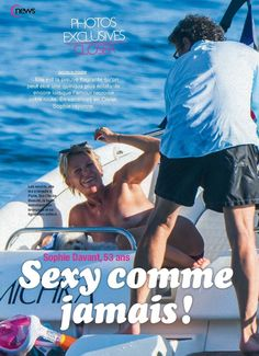 Photos Closer : Sophie Davant seins nus en Corse