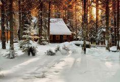 Romantic cabin...