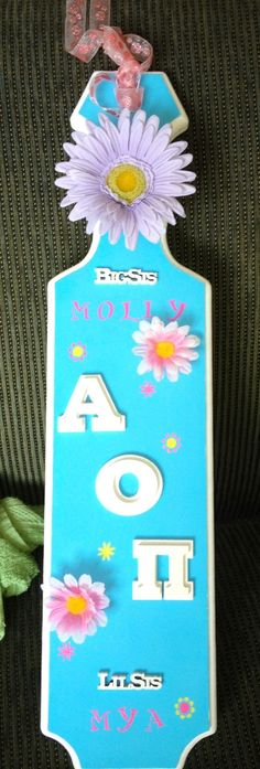 THIS IS TOTALLY THE PADDLE I MADE MY BIG AND IT ENDED UP ON PINTEREST WITHOUT ME PUTTING IT HERE!!!