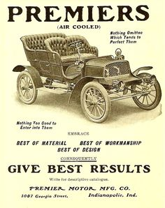 1905 Air Cooled Automobile