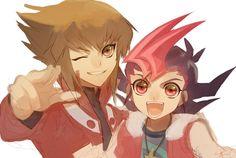 Yu-Gi-Oh! - Yuma and Jaden