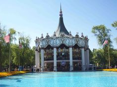 World's Only Double Deck Carousel at Paramount's Great America