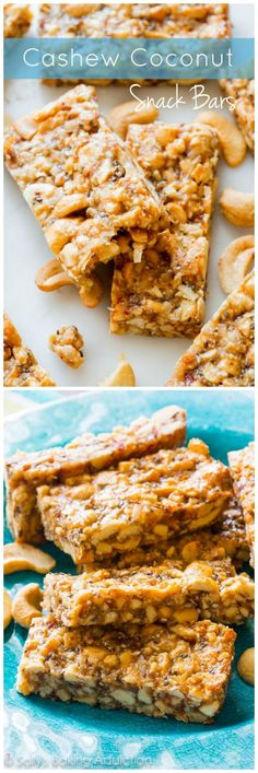 Copycat KIND bars with only 8 simple, wholesome ingredients. The chewy, healthy, satisfying snack a new week needs!
