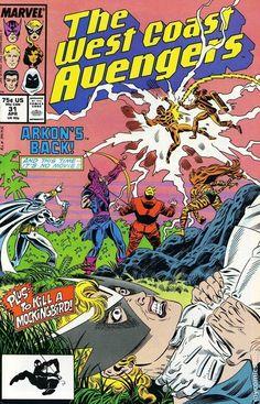 Avengers West Coast #31