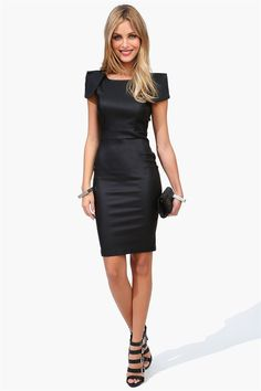 Milenium Dress in Black