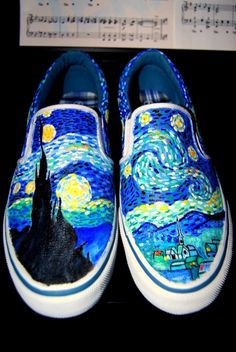 painted shoes - Google Search Más
