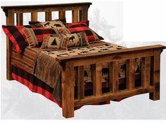 Awesome reclaimed barn wood furniture!