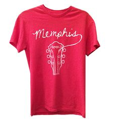 For the Memphis lover, music lover, or Memphis music lover: Memphis Guitar T-shirt from Lansky Bros. Check out more gift ideas.
