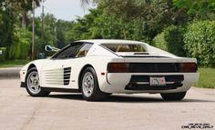 Mecum Miami Vice Testarossa Maserati, Ferrari F40, Chevrolet Corvette, Cadillac, Monterey Hotels, Daytona, Antique Motorcycles, Pontiac, Automotive News