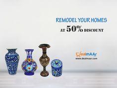 Save upto 50% on #homedecoratives