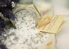 Fizzing Bath Salt Lemon and Lavender