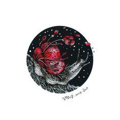 snail flower : 달팽이꽃 #snail #flower #snailflower #fromdrawing #달팽이 #꽃 #달팽이꽃