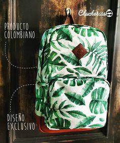 Morrales exclusivos llenos de estilo y actitud, sólo aquí  en #chucheriascm  Cra 34 # 51-48, Cabecera. Información por  direct o  whatsapp 304 42 17 807 #comprecolombiano #backpack #chucheriascm #productocolombiano #bags #bucaramanga