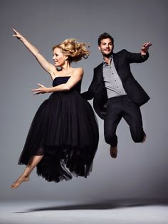 Gillian Anderson & Jamie Dornan - Jonty Davies shoot