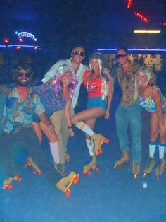 """Make your own """"Adult Skate Night"""" Roller Disco Skate Party!"""