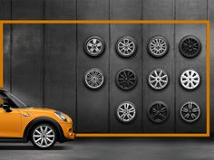 Well-wheeled. Which rims are made for your MINI?